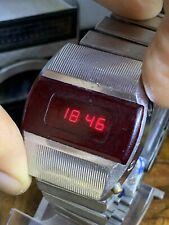 Elektronika 1 3051 B6-03 Pulsar USSR Soviet LED Watch Electronica 1 Pulsar #0795