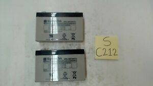 Sigmas Tek SP6-7 (6V7AH/T1) Battery, lot of 2