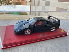 Ferrari F40 1/18 Bbr Models black gloss NO MR,LOOKSMART, KYOSHO
