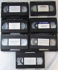 Eastern Airlines Continental ALPA Bavis Lorenzo 1989 Strike VHS Tape Lot of 7!!!