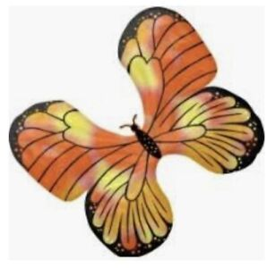 """30"""" Gold Butterfly Holographic SuperShape Foil/Mylar balloon"""
