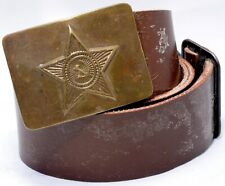 Russia Soviet USSR Uniform Belt Army Soldier Soviet Military #8362