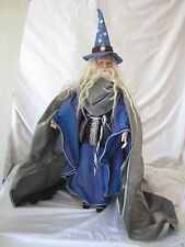 Franklin Mint Doll Gandalf The Hobbit Lord of the Rings early 80's (Box-17)