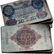 20 Reichsmark 1910 - 1914 Erhaltung 3-4 VF-VG / 8410045##