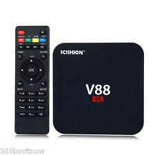 SCISHION V88 Smart TV Box Caja 4K Android Rockchip 8GB Quad Core PC Media Player