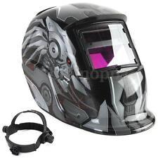 Robot Style Solar Auto Darkening Welding Helmet TIG MIG Welder Len Grinding Mask