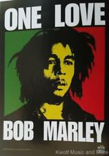 "BOB MARLEY Flag/ Tapestry/ Fabric Poster ""One Love""  NEW"