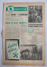 Orig.PRG  IFC / Intertoto 1975  BOHEMIANS PRAG - 1.FC KAISERSLAUTERN  !!  SELTEN