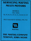 Maytag Gas Motor Engine Service Book Parts Manual & Serial # List Model 92 82 72 photo