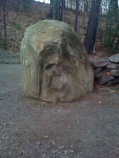 ** GRANITE BOULDER W/  FACE ON IT***