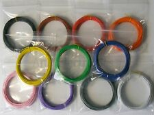 110m Equipment Wire Kit 1/0.6mm  11 Colours x 10m  22-23 AWG*  Single Solid Core