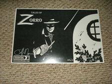 Zorro Poster,Tales of Zorro, Promotional Poster with an autograph from SDCC
