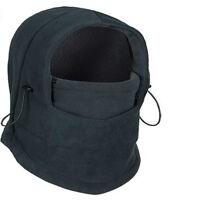 Light Gray 3 in1 Warm Full Face Cover Winter Ski Mask Beanie Police Swat Ski Hat
