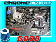 RED BLUE 97 98 99 00 01-03 CHEVY MALIBU BASE/LS 3.1 3.1L V6 COLD AIR INTAKE 2P