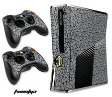 Skin Decal Wrap for Xbox 360 Slim Gaming Console & Controller Xbox360 Slim 23