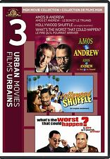 Amos & Andrew / Hollywood Shuffle / What's the Worst That Could Hapen? (DVD) NEW