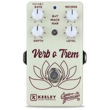 Keeley Verb-O-Trem Reverb Tremolo Guitar Effects Pedal