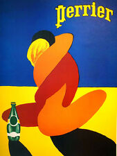 Perrier, Vintage Retro Metal Sign Plaque, Novelty Gift, Bar/ Pub