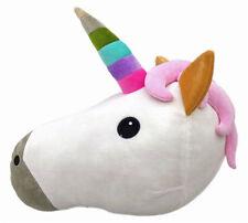 Unicorn Stuffed Plush Pillow horse head Cushion toy sleeping pillow bed sofa