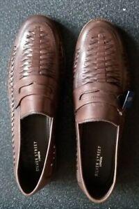 Silver Street Mens Brown Leather Sandals BNIB UK11!