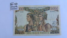 FRANCE - BILLET DE 5000 FRANCS TERRE ET MER 7 2 1952 B.90 - REF00001248