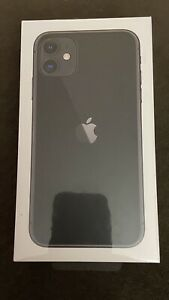 Apple iPhone 11 64GB Black - Brand New Sealed In Box AT&T/Cricket Only