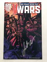 V-Wars (2014 IDW) Free Comic Book Day #0 Signed by Jonathan Maberry NM Near Mint