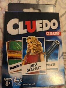 CLUEDO CLASSIC CARD GAME
