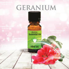 Geranium Essential Oil 10ml - 100% Pure - For Aromatherapy & Home Fragrance