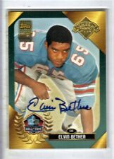 2003 Topps Hall of Fame Elvin Bethea Autograph Auto Oilers HOF Pack Certified SP