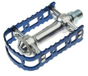 "MKS BM-7 MTB Bike Alloy Pedals 9/16""- Blue"