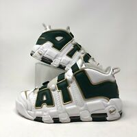 Nike Air More Uptempo Atlanta Exclusive Size 9.5  AJ3139-100 White Green ATL