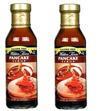 Walden Farms ZERO Calorie Maple Flavor Pancake Syrup 2 Pack Gluten Free Ship