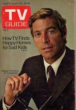 1971 TV Guide October 23 - James Franciscus - Mr Novak; Rod Taylor; Kalamazoo