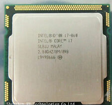 Intel Core i7 860 SLBJJ 2.8 GHz Quad-Core Socket 1156 CPU Prozessor