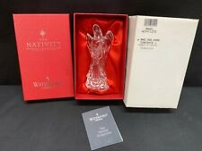 """Waterford Nativity Collection """"ANGEL with LUTE"""" ~ 6 1/4"""" Tall ~ Original Box"""