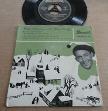 "DISQUE 45T BING CROSBY  "" WHITE CHRISTMAS """