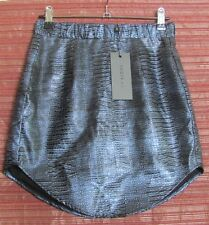 INDIKAH Size 8 NWT To the Moon and Back Skirt, Midnight Blue