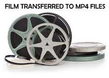 50 Feet 8 mm MOVIE FILM TRANSFERRED ~ 8mm ~ TRANSFER / COPY to MP4 Files