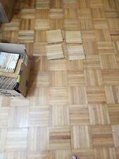 2.39 per tile - - Vintage Reclaimed 7 Finger Oak Parquet Wood Flooring Tiles