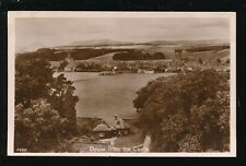 Scotland Perthshire DOUNE from the castle Used 1934 RP PPC pub J B White
