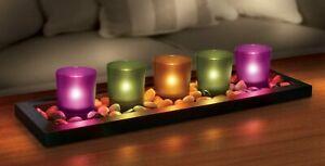 NEW 5 piece tea light candle set