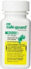 Safeguard Goat Dewormer 125ml by Durvet PROD20000231