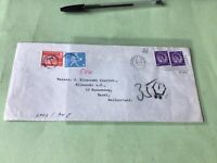 Wakefield Yorkshire 1967 to Basel Switzerland To Pay   Stamps Cover Ref 52305