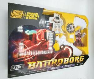 Tomy Battroborg T60800 NIB Red Remote Control Battling Robot