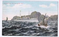 NORVEGE  Old postcard HOHENZOLLRN VED DEN NORSKE KYST