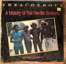 THE NEVILLE BROTHERS -2xLP- Treacherous: History Neville Brothers NEW SEALED!!!