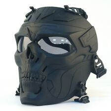 Army Paintball Airsoft Outdoor Breathable Full Face Safety Skull Face Cover