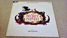 JERRY GOLDSMITH THE SECRET OF NIMH OST 1st UK LP 1982 PAUL WILLIAMS DON BLUTH
