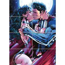 Superman WONDERWOMAN Kiss gigante Mural de pared arte cartel impresión 33x47 pulgadas